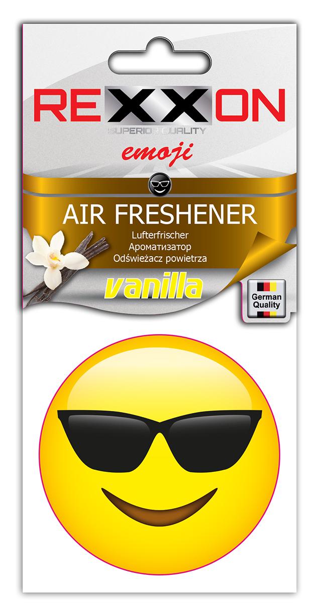 Ароматизатор автомобильный Rexxon Крутой, ваниль ароматизатор автомобильный paloma happy bag lemon