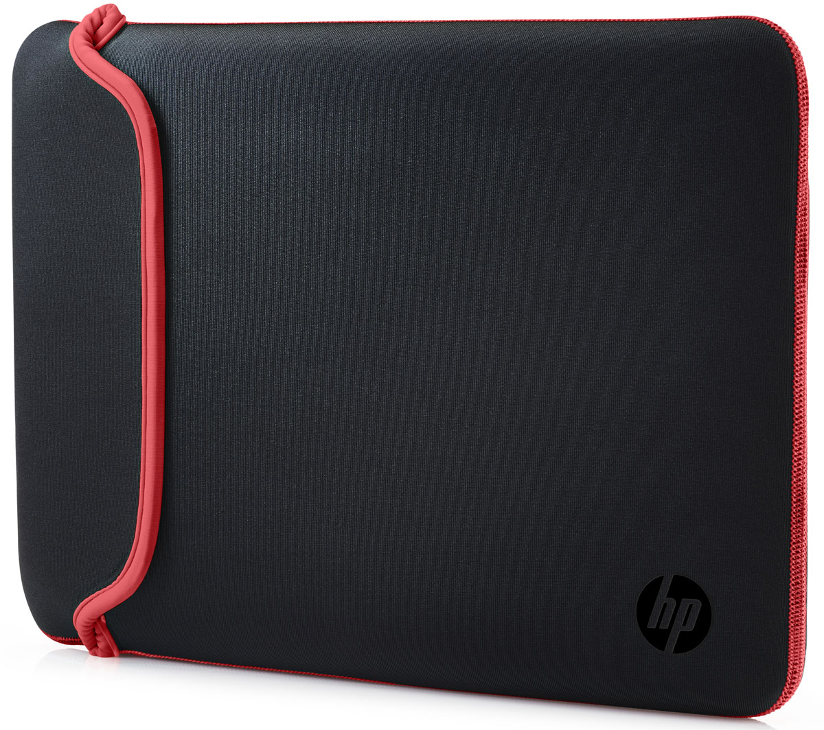 HP Neoprene Sleeve чехол для ноутбука 14, Black Red (V5C26AA)1000398659Поместите свой ноутбук в этот яркий и надежный цветной чехол HP Neoprene Sleeve. Этот прочный неопреновый чехол защищает ваш ПК от внешних воздействий, ударов и царапин. Аксессуар выполнен из двустороннего материала, так что вы в любой момент можете изменить его цвет.