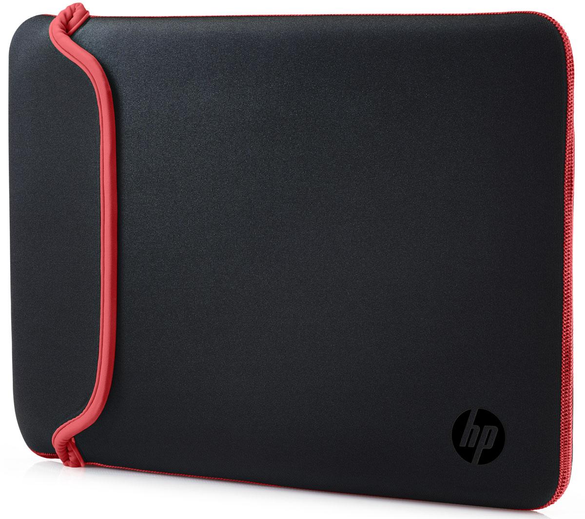 "HP Neoprene Sleeve чехол для ноутбука 14"", Black Red (V5C26AA)"