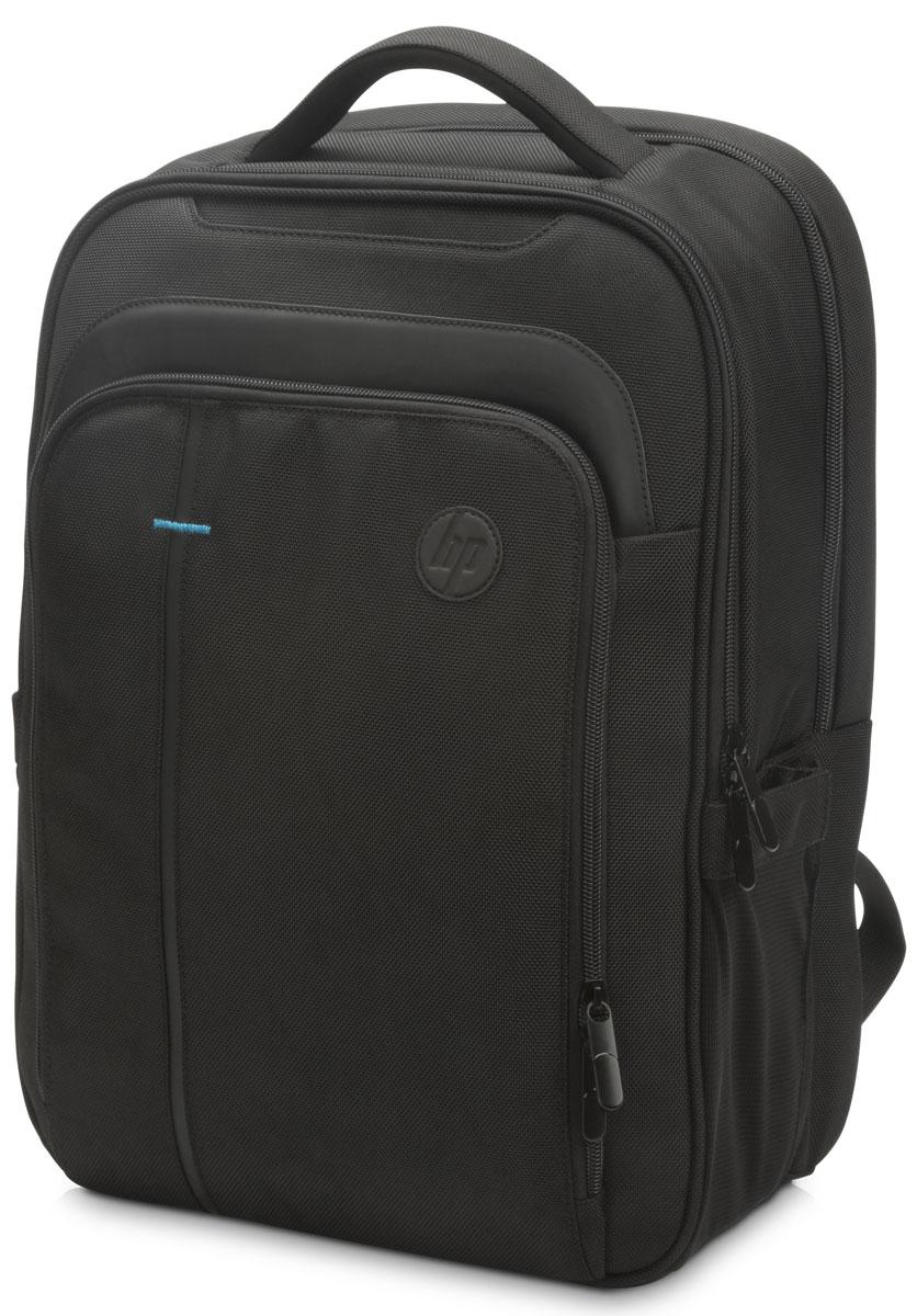 HP SMB Backpack Case рюкзак для ноутбуков 15.6, Black (T0F84AA)1000400478На работе. Дома. В пути. Вы постоянно находитесь в разъездах и вам необходимо, чтобы ваши устройства всегда были под рукой? Выберите рюкзак HP SMB Backpack Case, в котором ваши принадлежности будут в безопасности и всегда наготове. Этот рюкзак с верхней загрузкой создан специально для тех, кто постоянно находится в дороге.