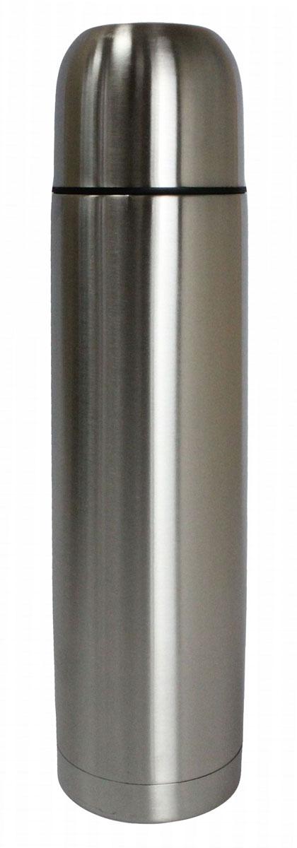 Термос Vetta Булет, 750 мл841027ТермосVetta Булет, изготовленный из высококачественной нержавеющей стали, прост в использовании и многофункционален. Изделие имеет двойные стенки, что позволяет содержимому долго оставаться горячим или холодным. В комплект входит удобная сумка для переноски термоса.Термос сохраняет температуру горячих или холодных продуктов до 24 часов.