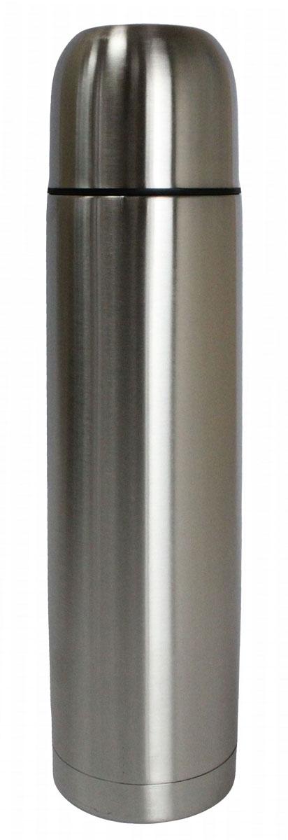 Термос Vetta Булет, 1 л841028Термос Vetta Булет, изготовленный из высококачественной нержавеющей стали, прост в использовании и многофункционален. Изделие имеет двойные стенки, что позволяет содержимому долго оставаться горячим или холодным. В комплект входит удобная сумка для переноски термоса.Термос сохраняет температуру горячих или холодных продуктов до 24 часов.