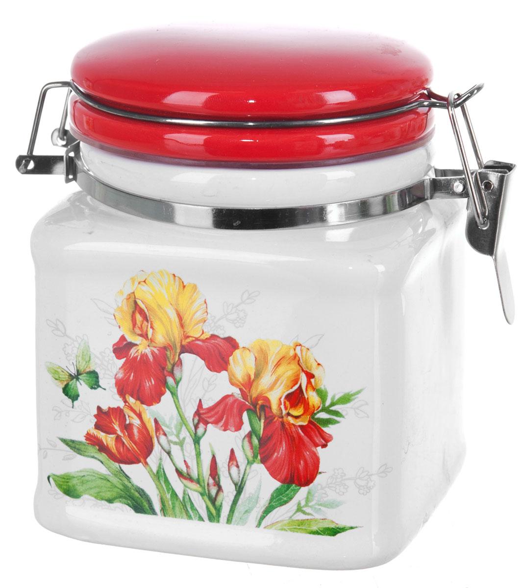 Банка для сыпучих продуктов Polystar Касатик, 450 мл банка для сыпучих продуктов polystar sweet home 850 мл