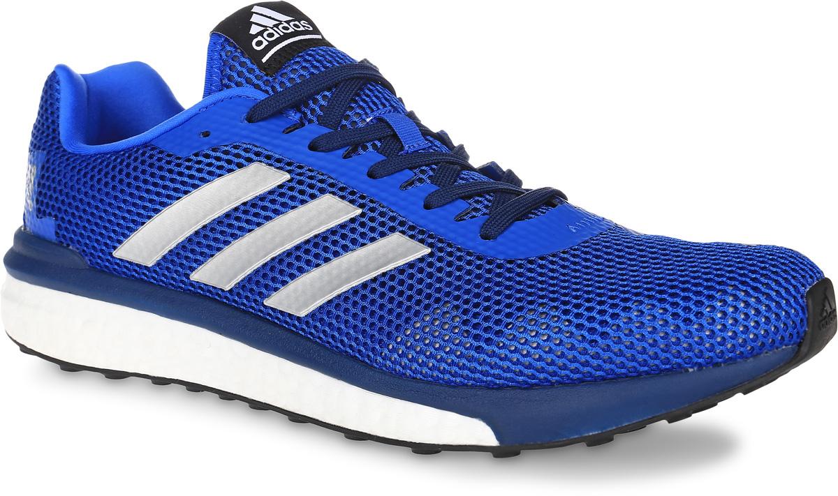 Кроссовки для бега мужские adidas Performance Vengeful, цвет: синий. BA7938. Размер 10 (43)BA7938Мужские кроссовки для бега adidas Performance Vengeful выполнены из текстиля и оформлены фирменными накладками из полимера. Шнурки надежно зафиксируют модель на ноге. Внутренняя поверхность из мягкого текстиля комфортна при движении. Стелька выполнена из легкого ЭВА-материала с поверхностью из текстиля. Подошва изготовлена из высококачественной легкой резины, которая обеспечит отличную амортизацию.Поверхность подошвы дополнена рельефным рисунком.