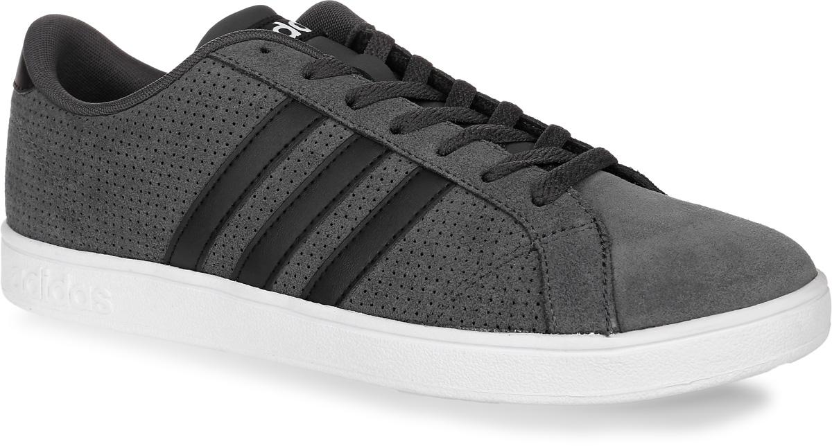 Купить Кроссовки мужские adidas Neo Baseline, цвет: темно-серый. B74440. Размер 9, 5 (42, 5)