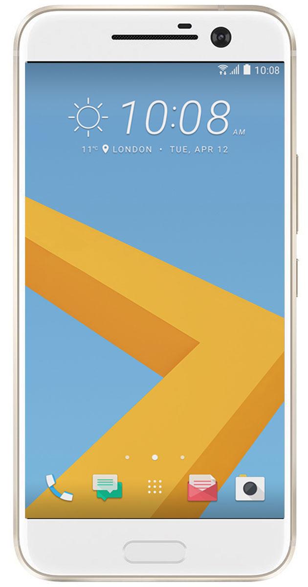 HTC 10 Lifestyle, Topaz Gold99HAJN037-00HTC 10 Lifestyle. Все, что ты ожидаешь от флагманского устройства, и даже больше. Непревзойденная производительность. Роскошный 24-битный Hi-Res Audio звук. Оптическая стабилизация изображения, впервые представленная как в основной, так и фронтальной камерах. И все это в искусно созданном цельнометаллическом корпусе.Красота света, нашедшая отражение в цельнометаллическом корпусе. HTC с огромным вниманием отнеслись к дизайну каждой детали HTC 10 Lifestyle. И не остановились на этом - каждый элемент доведен до совершенства. От выразительной зеркальной окантовки мастерски сконструированного двухцветного корпуса до отточенного дизайна кнопки включения.HTC 10 Lifestyle оснащен, пожалуй, лучшей камерой среди представленных сегодня на рынке смартфонов. Ты оценишь такие инновации как первая в мире система оптической стабилизации, реализованная как в основной, так и во фронтальной камерах, 12 миллионов чувствительных элементов UltraPixel, быстрая лазерная фокусировка и многое другое.HTC 10 Lifestyle задает новый золотой стандарт качества воспроизведения звука. Новая акустическая система HTC BoomSound Hi-Fi edition, система личных звуковых профилей и наушники, сертифицированные Hi-Res Audio. Все это идеально работает в HTC 10 Lifestyle, устройстве с сертифицированной поддержкой Hi-Res Audio. Трудно поверить, что смартфон способен обеспечить такой звук.В HTC 10 Lifestyle приложения запускаются быстрее и работают более плавно, экран отзывается на каждое твое прикосновение, а программы работают безукоризненно. Это именно то, что ты ожидаешь от действительно лучших в своем классе аппаратной части и программного обеспечения, настройка которых доведена до совершенства.Одно из преимуществ Android - расширенные возможности по настройке устройства. HTC 10 Lifestyle в разы повышает степень твоего контроля и открывает новые возможности персонализации, о которых ты мог только мечтать.Каждая деталь HTC 10 Lifestyle создавалась так, что бы устройство