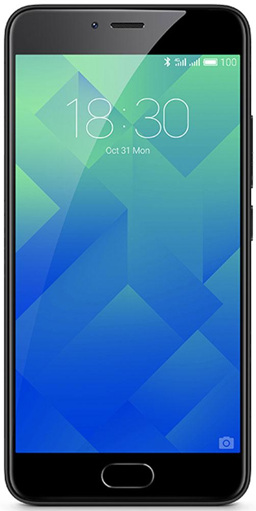 Meizu M5 16GB, Black смартфон meizu m5 note m621h 16gb серый