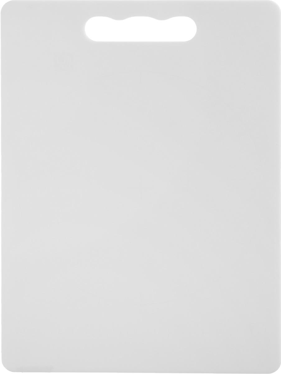 """Доска разделочная """"Zeller"""", цвет: белый, 28 х 20 х 0,3 см"""