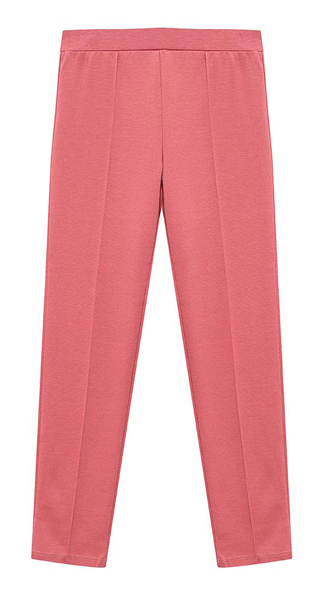 Брюки для девочки Sela, цвет: бежевая роза. Pk-515/147-7110. Размер 110 брюки sela брюки