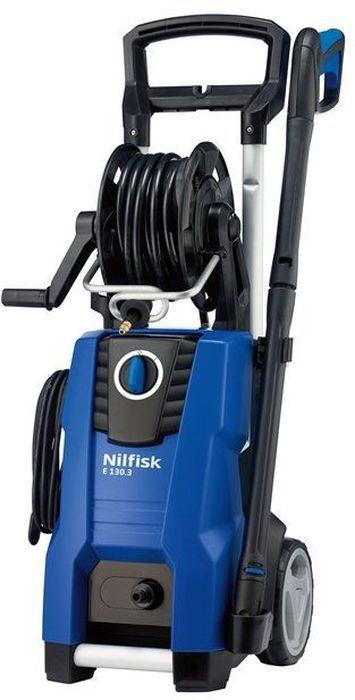 Минимойка Nilfisk E 130.3-9 X-TRA128470502Бытовая моечная машина Nilfisk E 130.3-9 X-TRA 128470502 - это надежный и производительный агрегат, предназначенный для регулярных работ. Ее основное назначение - очистка садовой мебели, инвентаря, автомобилей и твердых поверхностей, а также удаление грязи на любых площадях. Машина оснащена алюминиевой помпой с щеточным мотором, обеспечивающей высокий рабочий ресурс. Благодаря системе CLICK&CLEAN можно легко и быстро менять насадки.Технические характеристики:Мощность: 2,1 кВт. Производительность: 500 л/ч. Длина шланга: 9 м. Maксимальное давление воды: 130 бар. Длина кабеля: 5 м. Maксимальная температура воды на входе: 60°С. Габариты: 34,5 x 39,5 x 90 см.Комплектация:- Бытовая моечная машина; - Шланг - 9 м.; - Пистолет; - Копье; - Насадка для нанесения химического раствора; - Сопло Tornado; - Сопло Powerspeed.Как выбрать мойку высокого давления. Статья OZON Гид