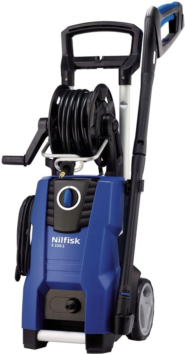 Минимойка Nilfisk E 150.1-10 H X-TRA128470540Минимойка Nilfisk E 150.1-10 H X-TRA предназначена для очистки автомобилей и удаления грязи на любых площадях. Она обладает высокой мощностью и производительностью. Благодаря наличию системы CLICK&CLEAN насадки легко и быстро заменяются. Для удобства пользователя пистолет машины оснащен мягкой рукояткой.Технические характеристики:Мощность: 2,3 кВт. Производительность: 500 л/ч. Длина шланга: 10 м. Maксимальное давление воды: 150 бар. Длина кабеля: 5 м. Maксимальная температура воды на входе: 60°С. Габариты: 34,5 x 39,5 x 90 см.Комплектация: моечная машина; сопло C&C Tornado PR; сопло C&C Powerspreed; С&C распылитель с бутылкой, инструкцияКак выбрать мойку высокого давления. Статья OZON Гид