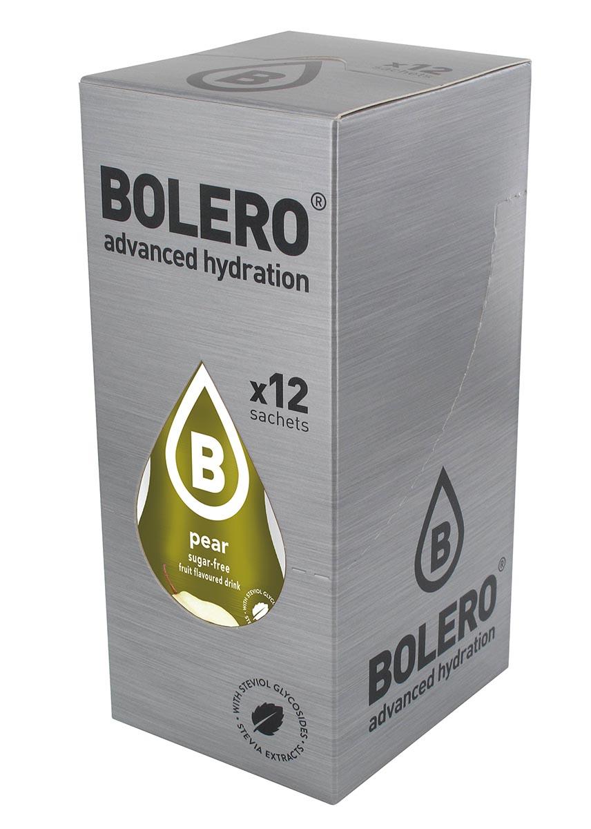 Напиток быстрорастворимый Bolero Pear / Груша, 9 г х 12 штЦБ-00003120Быстрорастворимый напиток предназначен для спортсменов, в период интенсивных тренировок в дополнение к основному рациону в соответствии с программой, разработанной для данных видов спорта. Каждый пакетик (9 г) рассчитан на приготовление 1,5-2 литра сока. Их также очень удобно носить с собой. Состав: без добавления ГМО. Не содержит глютен, без сахара. -Лимонная кислота, яблочная кислота, мальтодекстрин;- ароматические и вкусовые вещества; - L-аскорбиновая кислота. - натуральные ароматизаторы и подсластители: ацесульфам К, сукралоза,стевиогликозиды (экстракты стевии), регулятор кислотности: тринатрийцитрат. - разрыхлитель: трикальцийфосфат; - загустители: гуаровая камедь, гуммиарабик (аравийская камедь). Товар не является лекарственным средством. Товар не рекомендован для лиц младше 18 лет. Могут быть противопоказания иследует предварительно проконсультироваться со специалистом. Товар сертифицирован.Как повысить эффективность тренировок с помощью спортивного питания? Статья OZON Гид