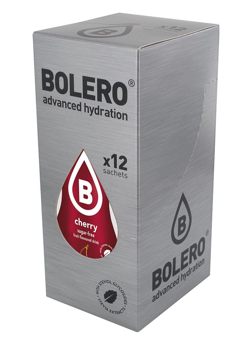 Напиток быстрорастворимый Bolero Cherry / Вишня, 9 г х 12 штЦБ-00003129Быстрорастворимый напиток предназначен для спортсменов, в период интенсивных тренировок в дополнение к основному рациону в соответствии с программой, разработанной для данных видов спорта.Каждый пакетик (9 г) рассчитан на приготовление 1,5-2 литра сока. Их также очень удобно носить с собой. Состав: без добавления ГМО. Не содержит глютен, без сахара.-Лимонная кислота, яблочная кислота, мальтодекстрин;- ароматические и вкусовые вещества;- L-аскорбиновая кислота.- натуральные ароматизаторы и подсластители: ацесульфам К, сукралоза,стевиогликозиды (экстракты стевии), регулятор кислотности: тринатрийцитрат.- разрыхлитель: трикальцийфосфат;- загустители: гуаровая камедь, гуммиарабик (аравийская камедь). Товар не является лекарственным средством. Товар не рекомендован для лиц младше 18 лет. Могут быть противопоказания иследует предварительно проконсультироваться со специалистом. Товар сертифицирован.Как повысить эффективность тренировок с помощью спортивного питания? Статья OZON Гид