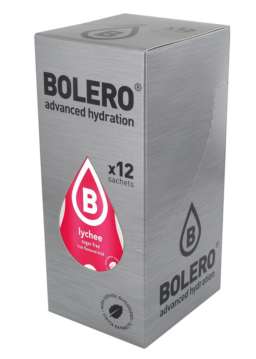 Напиток быстрорастворимый Bolero Lychee / Личи, 9 г х 12 штЦБ-00003142Быстрорастворимый напиток предназначен для спортсменов, в период интенсивных тренировок в дополнение к основному рациону в соответствии с программой, разработанной для данных видов спорта.Каждый пакетик (9 г) рассчитан на приготовление 1,5-2 литра сока. Их также очень удобно носить с собой. Состав: без добавления ГМО. Не содержит глютен, без сахара.-Лимонная кислота, яблочная кислота, мальтодекстрин;- ароматические и вкусовые вещества;- L-аскорбиновая кислота.- натуральные ароматизаторы и подсластители: ацесульфам К, сукралоза,стевиогликозиды (экстракты стевии), регулятор кислотности: тринатрийцитрат.- разрыхлитель: трикальцийфосфат;- загустители: гуаровая камедь, гуммиарабик (аравийская камедь). Товар не является лекарственным средством. Товар не рекомендован для лиц младше 18 лет. Могут быть противопоказания иследует предварительно проконсультироваться со специалистом. Товар сертифицирован.Как повысить эффективность тренировок с помощью спортивного питания? Статья OZON Гид