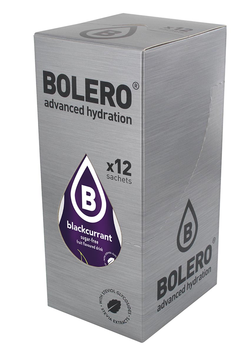 """Напиток быстрорастворимый Bolero """"Blackcurrant / Черная смородина"""", 9 г х 12 шт"""
