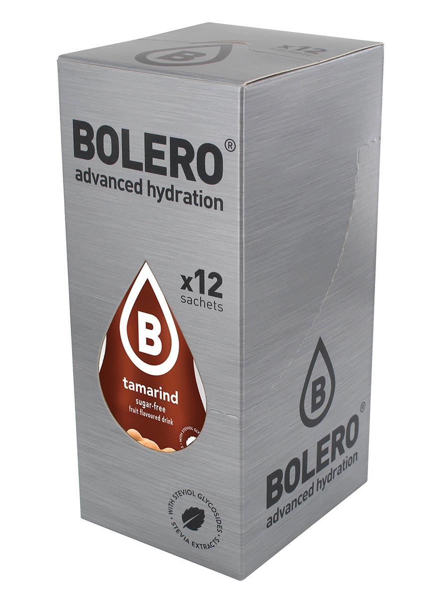 Напиток быстрорастворимый Bolero Tamarind / Тамаринд, 9 г х 12 штЦБ-00003666Быстрорастворимый напиток предназначен для спортсменов, в период интенсивных тренировок в дополнение к основному рациону в соответствии с программой, разработанной для данных видов спорта.Каждый пакетик (9 г) рассчитан на приготовление 1,5-2 литра сока. Их также очень удобно носить с собой. Состав: без добавления ГМО. Не содержит глютен, без сахара.-Лимонная кислота, яблочная кислота, мальтодекстрин;- ароматические и вкусовые вещества;- L-аскорбиновая кислота.- натуральные ароматизаторы и подсластители: ацесульфам К, сукралоза,стевиогликозиды (экстракты стевии), регулятор кислотности: тринатрийцитрат.- разрыхлитель: трикальцийфосфат;- загустители: гуаровая камедь, гуммиарабик (аравийская камедь). Товар не является лекарственным средством. Товар не рекомендован для лиц младше 18 лет. Могут быть противопоказания иследует предварительно проконсультироваться со специалистом. Товар сертифицирован.Как повысить эффективность тренировок с помощью спортивного питания? Статья OZON Гид