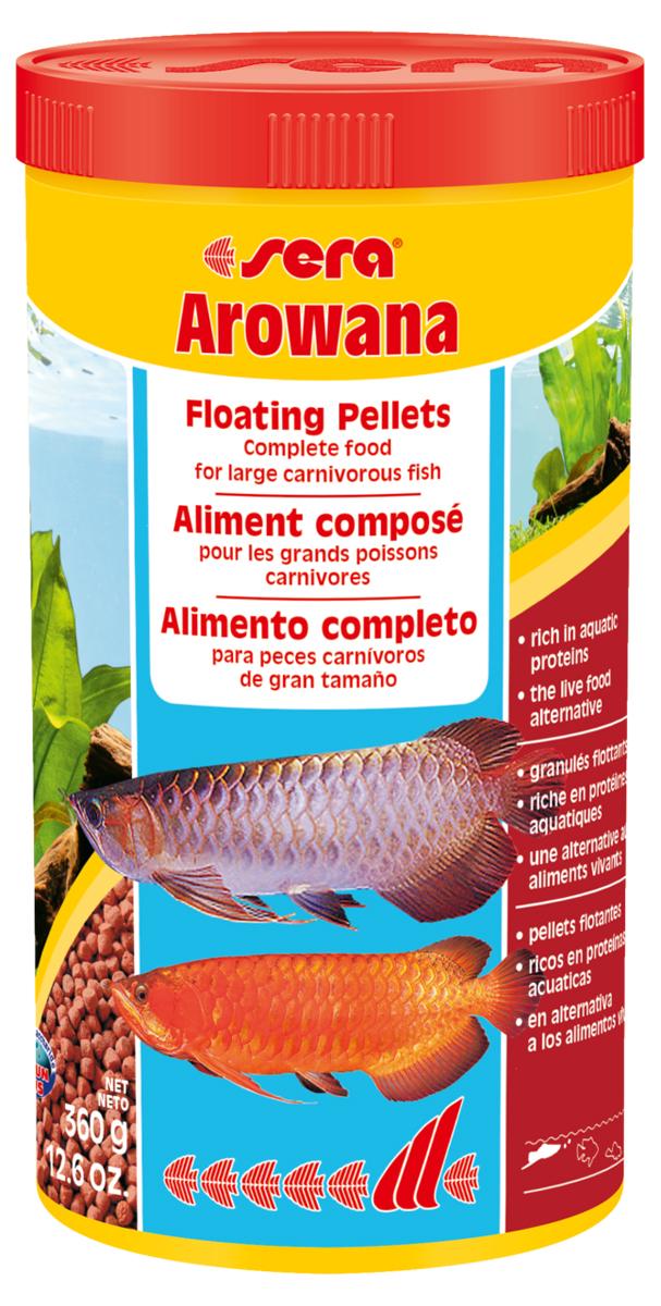 Корм для рыб Sera Arowana, 1000 мл (360 г) пудовъ мука ржаная обдирная 1 кг