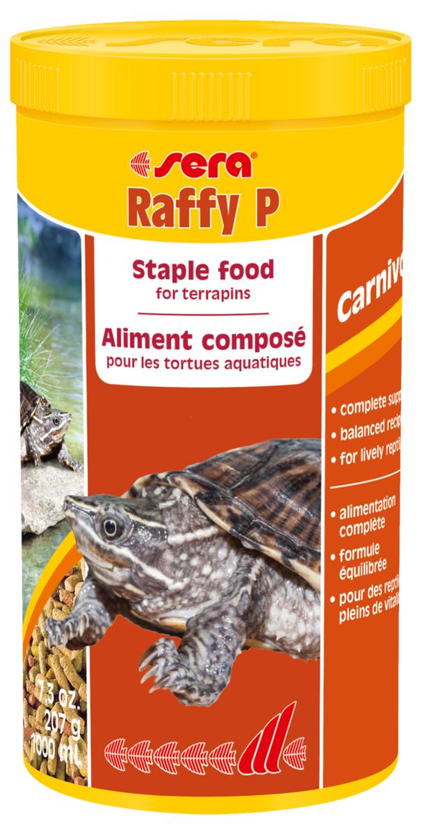 Корм для рептилий Sera Raffy P, 1 л (207 г) мука пшеничная обойная пудов