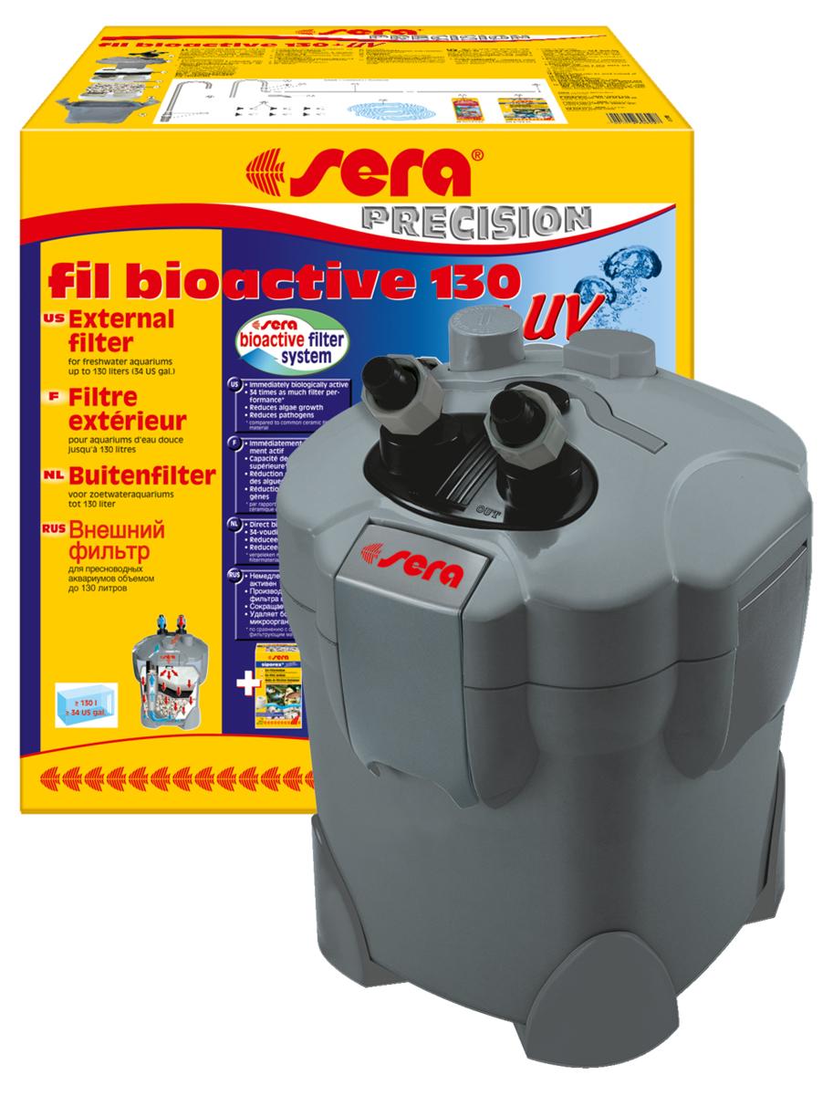 Фильтр внешний Sera  Serafil Bioactive 130 + УФ , для аквариума - Аксессуары для аквариумов