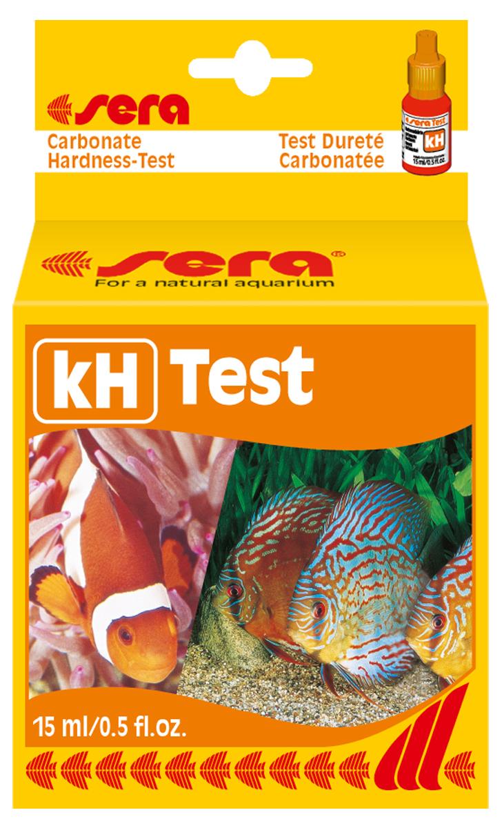 Тест для воды Sera kH-Test, 15 мл тест sera ph тест для воды 15 мл