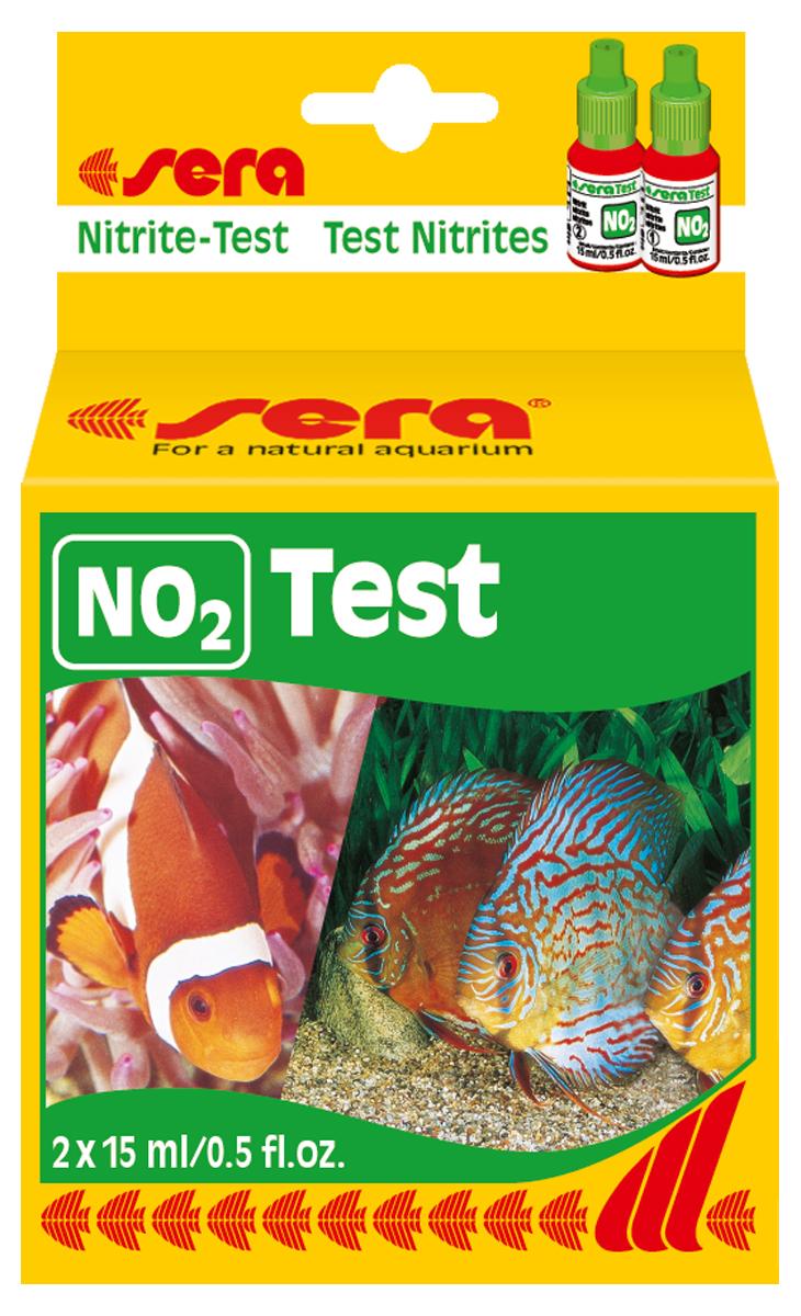 Тест для воды Sera  NO2-Test , 15 мл, 2 шт - Средства для ухода и гигиены