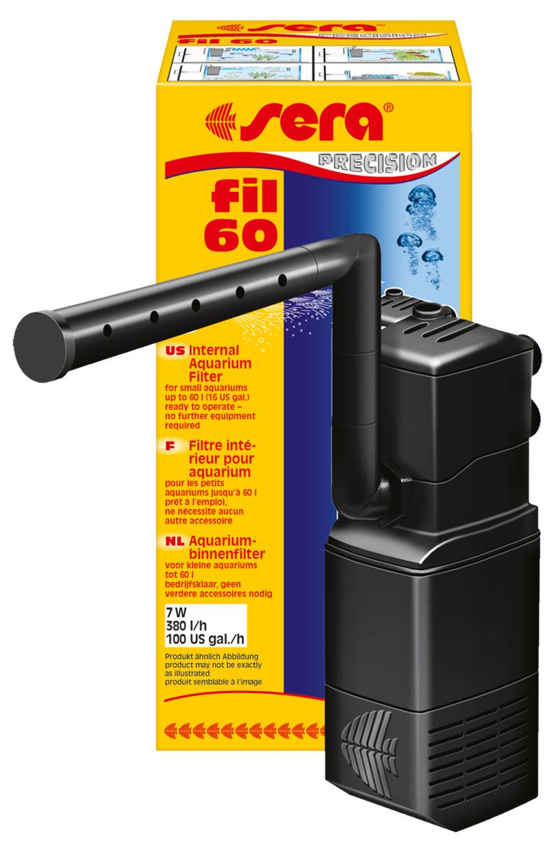 фильтр для воды эко Фильтр аквариумный внутренний Sera Fil, до 60 л
