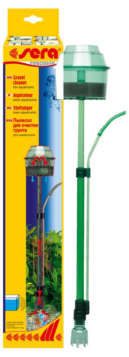 Грунтоочиститель-пылесос Sera Gravel Cleaner компрессор sera precision air 275 r plus с регулятором для аэрации воды в аквариуме