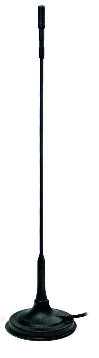 Антенна автомобильная Триада-МА 2710 CB11777Малогабаритная автомобильная CB антенна Триада-МА 2710 настраивается на определенную частоту приема\передачи для обеспечения большей дальности связи. Предназначена для использования совместно с автомобильными радиостанциями диапазона частот 27 МГц (Си-Би). Это одна из самых компактных антенн для радиостанций. Навитый антенный штырь позволяет антенне при небольших размерах показывать отличные результаты связи. Имеет удобную подстройку КСВ, которая производится путем регулировки настроечного винта на конце штыря самостоятельно либо специалистом. Пруток выполнен из прочного гибкого стеклотекстолитового стержня диаметром 3 мм. Поверху стержня навита медная проволока. Проволока и стержень обтянуты термоусадочной трубкой. Резьба прутка М6 наружная. Антенна легко устанавливается на металлическую крышу автомобиля с помощью магнитного крепления. Основное отличие от аналогов - стабильность параметров, малая зависимость от прокладки кабеля и местоположения на крыше автомобиля. Технические характеристики: - Постоянная мощность нагрузки на антенну 10 Вт. Кратковременно выдерживает 50 Вт. - Максимальная мощность нагрузки на антенну: 20 Вт. - Волновое сопротивление: 50 Ом. - Диаметр магнитного основания: 100 мм. - Диаметр магнита: 86 мм. - Высота: 50 см. - КСВ мин. в центре диапазона: 1:1,2. - Кабель RG-58A\U: 3,5 м. - Материал штыря: пластик. - Разъем в комплекте: PL259.