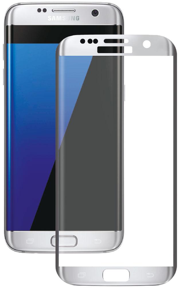 Deppa защитное стекло для Samsung Galaxy S7 Edge, Silver (3D) аксессуар защитное стекло samsung galaxy s7 edge solomon 3d transparent