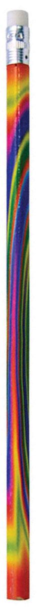 ArtSpace Набор чернографитных карандашей Радуга с ластиком 6 шт bic набор чернографитных карандашей evolution с ластиком 4 шт