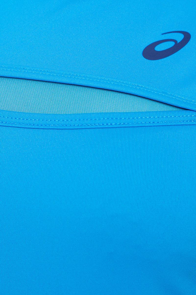 Майка для тенниса женская Asics Club Tank, цвет:  голубой, темно-синий.  141154-8012.  Размер S (42/44) Asics