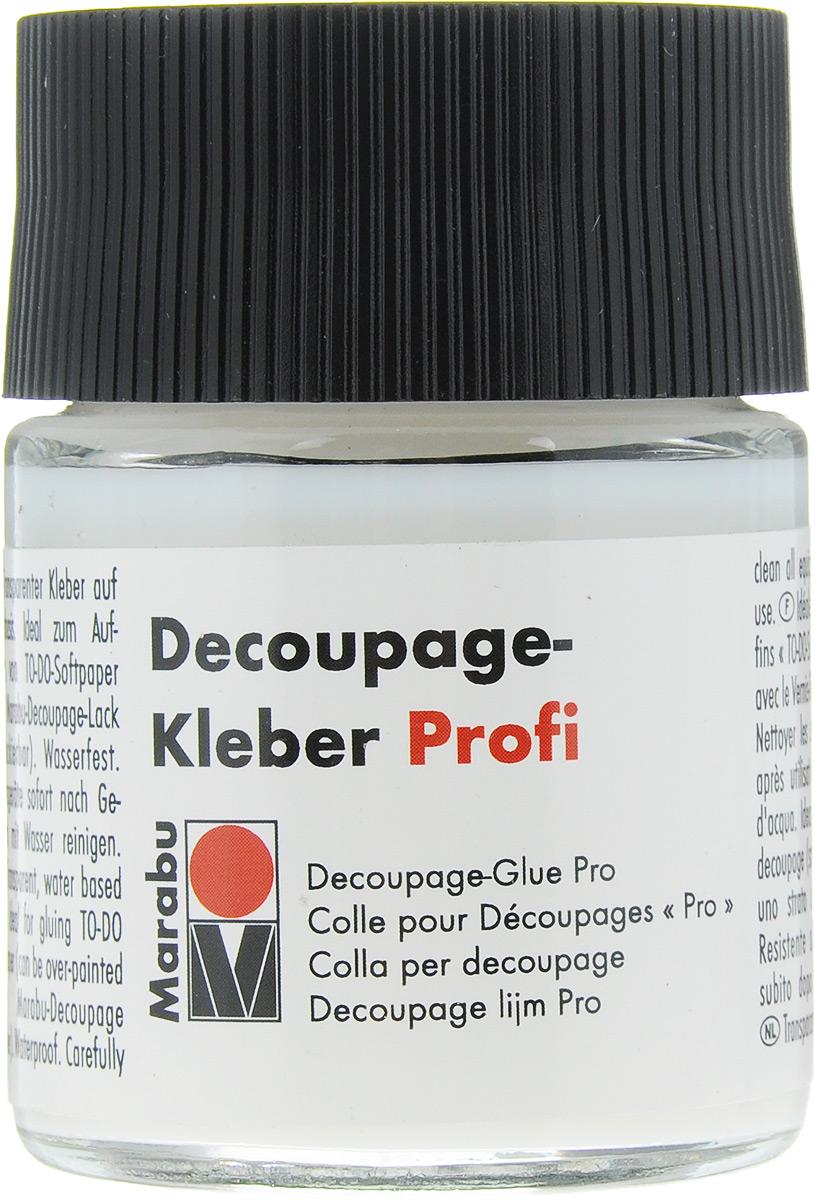 Клей для декупажа Marabu  Decoupage Kleber Profi , 50 мл -  Клей