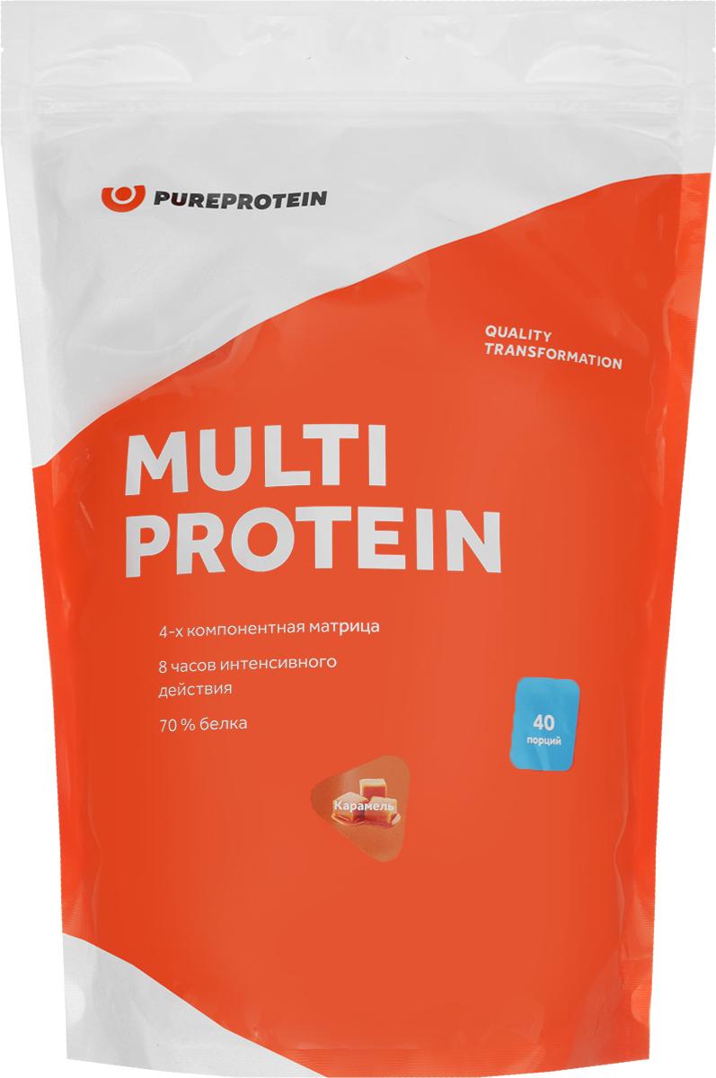 Протеин PureProtein Multi Protein, сливочная карамель, 1,2 кг белковая добавка для животных г иркутск