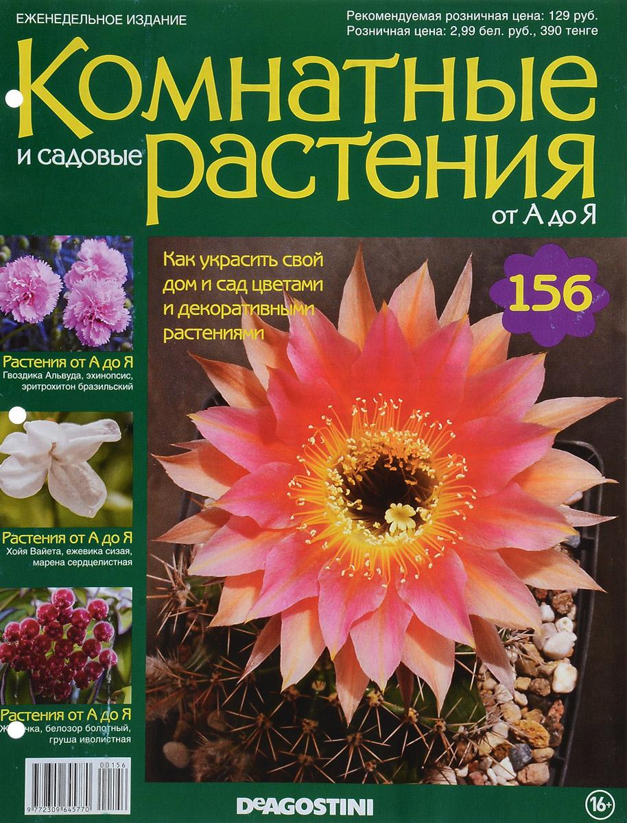 Журнал Комнатные и садовые растения. От А до Я №156 журнал комнатные и садовые растения от а до я 141