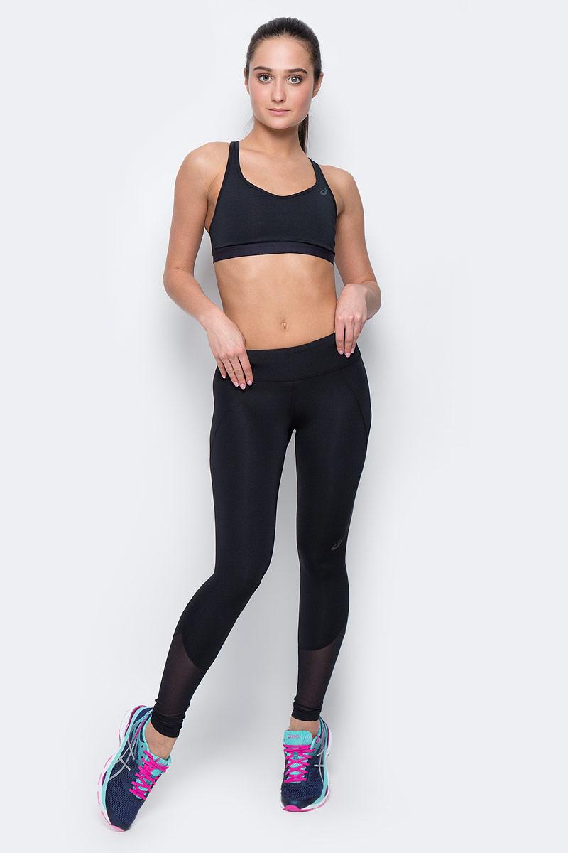 Тайтсы для фитнеса женские Asics Panel Tight, цвет: черный. 140941-0904. Размер S (42/44) тайтсы asics тайтсы base tight gpx
