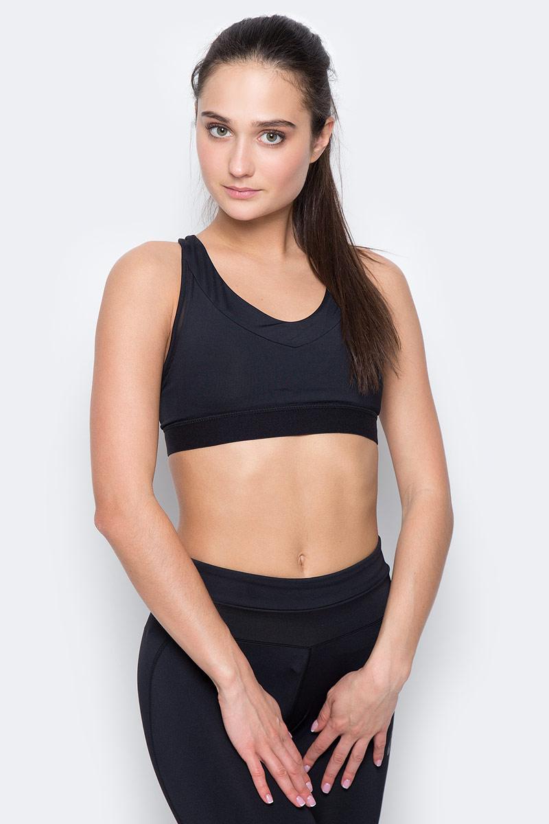 Топ-бра для бега Asics Race Bra, цвет: черный. 141219-0904. Размер S (42/44) топ hummel топ hero baselayer women s sports bra