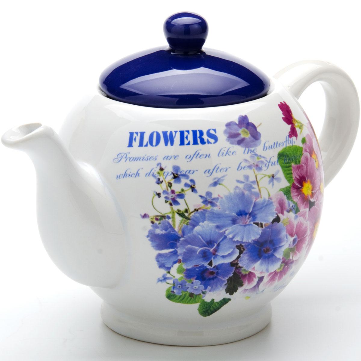 """Заварочный чайник """"Loraine"""" изготовлен из высококачественной керамики и оформлен красочным изображением, которое придает чайнику особый шарм. Изделие удобно в использовании и понравится каждому. Такой чайник поможет вам в приготовлении вкусного и ароматного чая, а также станет украшением вашей кухни."""