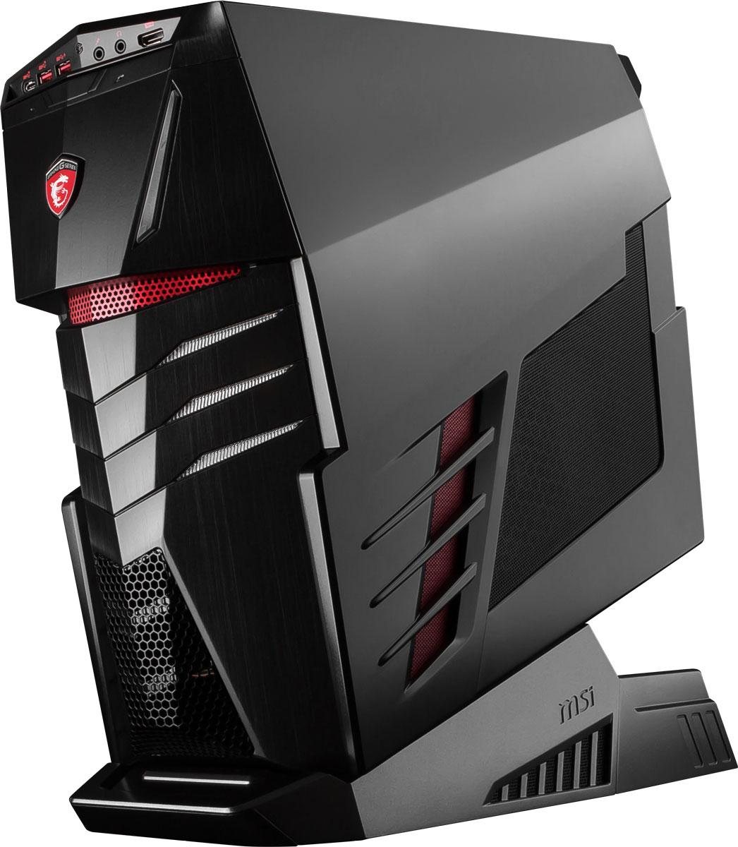 MSI Aegis Ti-024RU, Black настольный компьютер9S6-B90311-024Экстремальная игровая мощь! Готовься почувствовать эту мощь в игре с этой системой, полностью готовой к сражениям с MSI Aegis Ti.Играйте в новейшие хиты игрового мира во всей их красе на десктопе MSI Aegis Ti. Вы познаете всю мощь новейших графических карт класса High-endGeForce GTX 1070 в режиме SLI. Поддержка конфигурации 2-way SLI подарит высокую детализацию игрового мира и совершенное качество геймплея.Сердцем Aegis Ti стал мощный разблокированный процессор Intel Core i7-6700 с индексом K, который вы сможете разогнать без использования сложных приложений – даже корпус открывать не придётся. Одно нажатие кнопки Дракона на передней панели Aegis Ti, и внутренние компоненты придут в режим повышенной производительности. Это заставит игры и другие ресурсоёмкие задачи работать ещё более плавно, чем в обычном режиме.Благодаря новой архитектуре процессоров 6-го поколения Intel Core, реализована поддержка высокоскоростных модулей памяти DDR4 с частотой 2133 МГц. Двухканальная архитектура DDR4-2133 обеспечивает прирост производительности на 33% по сравнению с двухканальной работой памяти DDR3-1600.Желая добиться выдающейся производительности, инженеры MSI снабдили Aegis Ti новой мощной системой охлаждения Silent Storm Cooling 3. Три отдельных блока Aegis Ti имеют раздельное охлаждение. Такое решение позволило разделить внутреннее пространство на три независимых воздушных потока: для PSU, GPU и CPU. Уникальная архитектура Silent Storm Cooling 3 обеспечивает высокоточное управление температурой компонентов, благодаря чему система всегда остаётся холодной и тихой.Super RAID 4 – это новейшая технология построения высокоскоростных систем хранения данных, основанная на архитектуре RAID 0. Объединяя два модуля PCI-E Gen 3.0 x4 SSD-накопителей, использующих технологию NVMe, в единое целое, она позволяет развить невероятную скорость передачи данных – более 3300 Мбайт/с в режиме чтения!Добавьте уникальности вашему Aegis Ti 
