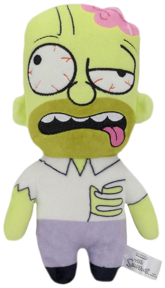 The Simpsons. Мягкая игрушка Zombie Homer