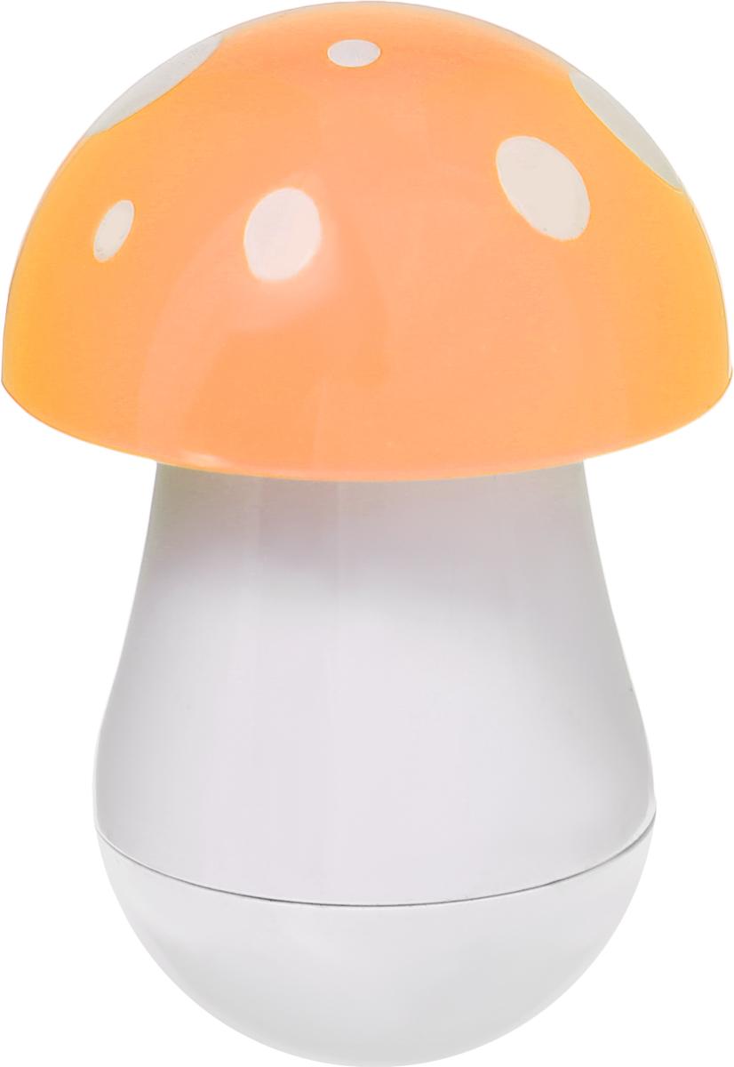 Эврика Ручка шариковая Гриб цвет шляпки оранжевый96545Миниатюрная ручка в виде яркого мухомора имеет телескопическое сложение, приятную округлую форму и удобный карманный формат. В собранном виде ручка может служить миниатюрным настольным сувениром.Стержень синего цвета, несменяемый.Такая ручка станет отличным подарком и незаменимым аксессуаром, она удивит и порадует любителей необычной канцелярии.