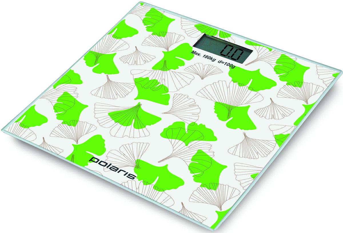 Polaris PWS 1855DG напольные весы7425Polaris PWS 1855DG - напольные весы, выполненные в стильном дизайне. Одновременно с этим вас удивит и функциональность данного устройства: теперь вы легко сможете контролировать свой вес, а значит, вести здоровый образ жизни. Для вашего удобства в весах предусмотрена возможность с высокой точностью определять массу тела в килограммах, фунтах и унциях.Платформа данной модели выполнена из высокопрочного закаленного стекла, что позволит использовать весы годами и не переживать за их сохранность. Максимально допустимый вес - 180 кг. Все данные отобразятся на удобном жидкокристаллическом дисплее. Для того, чтобы сохранить заряд батареи в весах используется функция автоматического отключения.