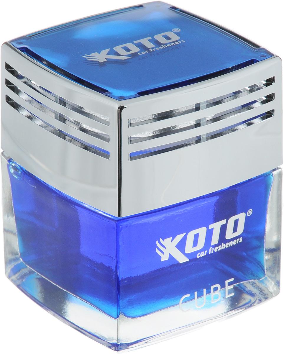 Ароматизатор автомобильный Koto Cube. Ocean Breeze, гелевый, 50 млFSH-1601Автомобильный ароматизатор Koto Cube. Ocean Breeze эффективно устраняет неприятные запахи и придает легкий приятный аромат. Сочетание формулы геля с парфюмами наилучшего качества обеспечивает устойчивый запах. Кроме того, ароматизатор обладает элегантным дизайном, поэтому будет гармонично смотреться в салоне любого автомобиля. Благодаря удобной конструкции, его можно установить в любое место, например, на панель, под сиденье или в двери. Крепится ароматизатор с помощью двусторонней наклейки (входит в комплект). Ароматизатор имеет продолжительный срок службы - до 60 дней. Его можно использовать не только в автомобиле, но и в домашних условиях.