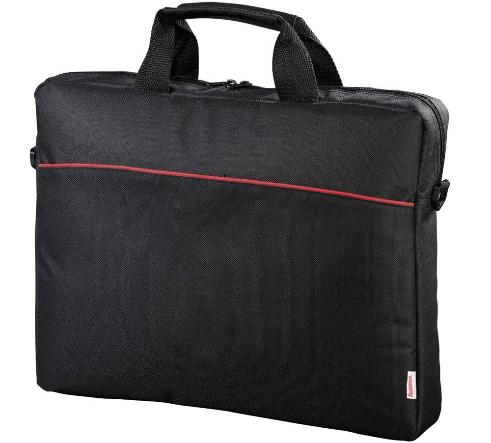 Hama Tortuga, Black сумка для ноутбука 17.3 (00101240)101240Сумка Hama Tortuga - это незаменимый аксессуар для людей, чья жизнь проходит в постоянном движении. Обладая эргономичной ручкой и удобным плечевым ремнем, обеспечивающих максимальный комфорт при переноске, она идеально подойдет для ноутбуков с диагональю до 17.3 дюймов.Данная модель оснащена передним карманом на липучке для быстрого доступа к вашим вещам и основным отделением на молнии. Отсутствие дополнительных отделений и карманов делают ее легкой и простой в использовании.