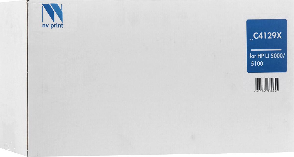 NV Print C4129X, Black тонер-картридж для HP LaserJet 5000/5100/5100dtn/5100tnNV-C4129XСовместимый лазерный картридж NV Print NV-C4129X для печатающих устройств HP LaserJet 5000/5100/5100dtn/5100tn - это альтернатива приобретению оригинальных расходных материалов. При этом качество печати остается высоким. Тонер картриджи NV Print, спроектированные и разработанные с применением передовых технологий, наилучшим образом приспособлены для эффективной работы печатного устройства. Все компоненты оптимизируют процесс печати и идеально сочетаются в течение всего времени работы, что дает вам неизменно качественные результаты при использовании вашего лазерного принтера.Лазерные принтеры, копировальные аппараты и МФУ являются более выгодными в печати, чем струйные устройства, так как лазерных картриджей хватает на значительно большее количество отпечатков, чем обычных. Для печати в данном случае используются не чернила, а тонер.