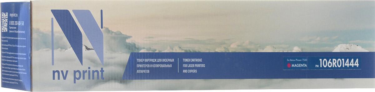 NV Print 106R01444M, Magenta тонер-картридж для Xerox Phaser 7500NV-106R01444MСовместимый лазерный картридж NV Print 106R01444M для печатающих устройств Xerox Phaser 7500 - это альтернатива приобретению оригинальных расходных материалов. При этом качество печати остается высоким. Тонер картриджи NV Print, спроектированные и разработанные с применением передовых технологий, наилучшим образом приспособлены для эффективной работы печатного устройства. Все компоненты оптимизируют процесс печати и идеально сочетаются в течение всего времени работы, что дает вам неизменно качественные результаты при использовании вашего лазерного принтера.Лазерные принтеры, копировальные аппараты и МФУ являются более выгодными в печати, чем струйные устройства, так как лазерных картриджей хватает на значительно большее количество отпечатков, чем обычных. Для печати в данном случае используются не чернила, а тонер.