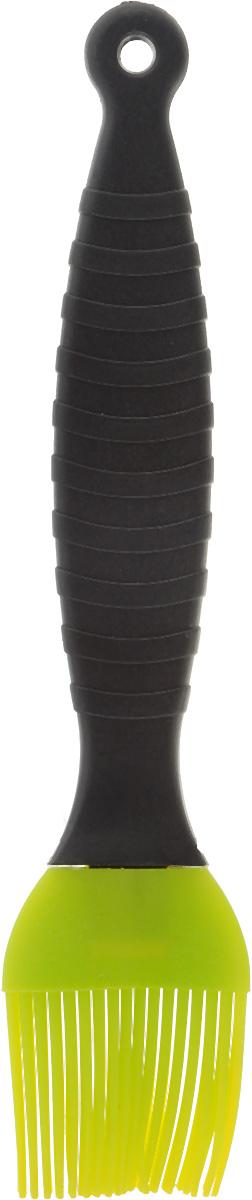 Кисть кулинарная Mayer & Boch, цвет: салатовый, черный, длина 20 см20060_салатовый/черныйКулинарная кисть Mayer & Boch, выполненная из высококачественного силикона и пластика, предназначена для смазывания противня и нанесения масла на кондитерские изделия, смазывания соусом и маринадом мяса и рыбы. Изделие безопасно для посуды с антипригарным и керамическим покрытием. Эргономичная рукоятка с рельефными полосками обеспечивает надежный хват. Кисть Mayer & Boch станет отличным дополнением к коллекции ваших кухонных аксессуаров. Общая длина кисти: 20 см.Длина ворсинок: 3,5 см.