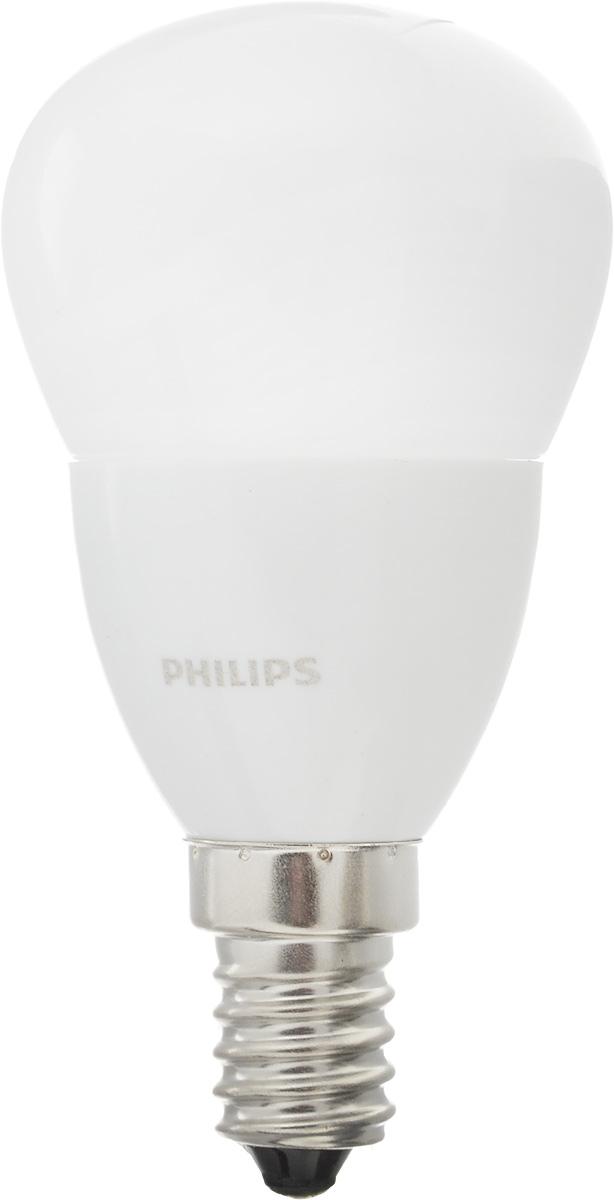 Лампа светодиодная Philips CorePro LEDluster, цоколь E14, 4W, 2700KЛампа CorePro ND 4-25W E14 827 P45 FRСовременные светодиодные лампы CorePro LEDluster экономичны, имеют долгий срок службы и мгновенно загораются, заполняя комнату светом. Лампа классической формы и высокой яркости позволяет создать уютную и приятную обстановку в любой комнате вашего дома.Светодиодные лампы потребляют на 90 % меньше электроэнергии, чем обычные лампы накаливания, излучая при этом привычный и приятный теплый свет. Срок службы светодиодной лампы CorePro LEDluster составляет до 15 000 часов, что соответствует общему сроку службы пятнадцати ламп накаливания. Благодаря чему менять лампы приходится значительно реже, что сокращает количество отходов.Напряжение: 220-240 В. Световой поток: 250 lm.Эквивалент мощности в ваттах: 25 Вт.
