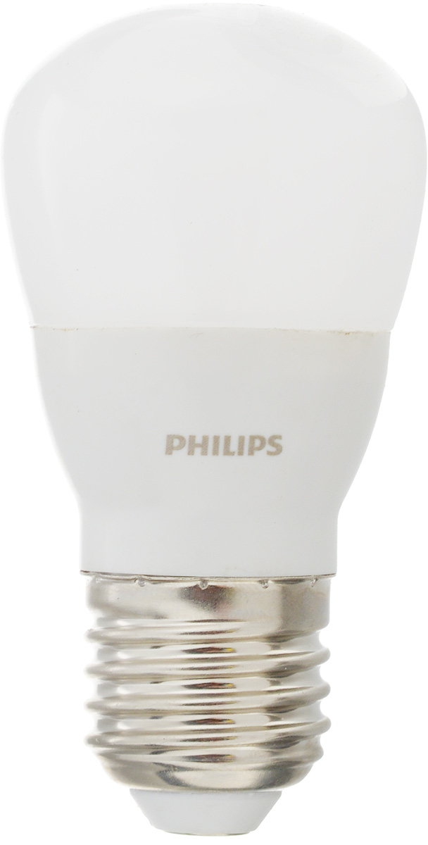 Лампа светодиодная Philips LED bulb, цоколь E27, 4W, 3000K ufo led plants grow light bulb full spectrum 50x3w led bulb greenhouse hydroponic system flower plant growth lamp