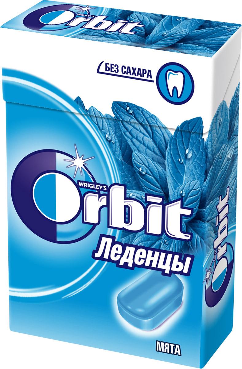 Orbit Мята леденцы, 35 г orbit спелая клубника леденцы 35 г