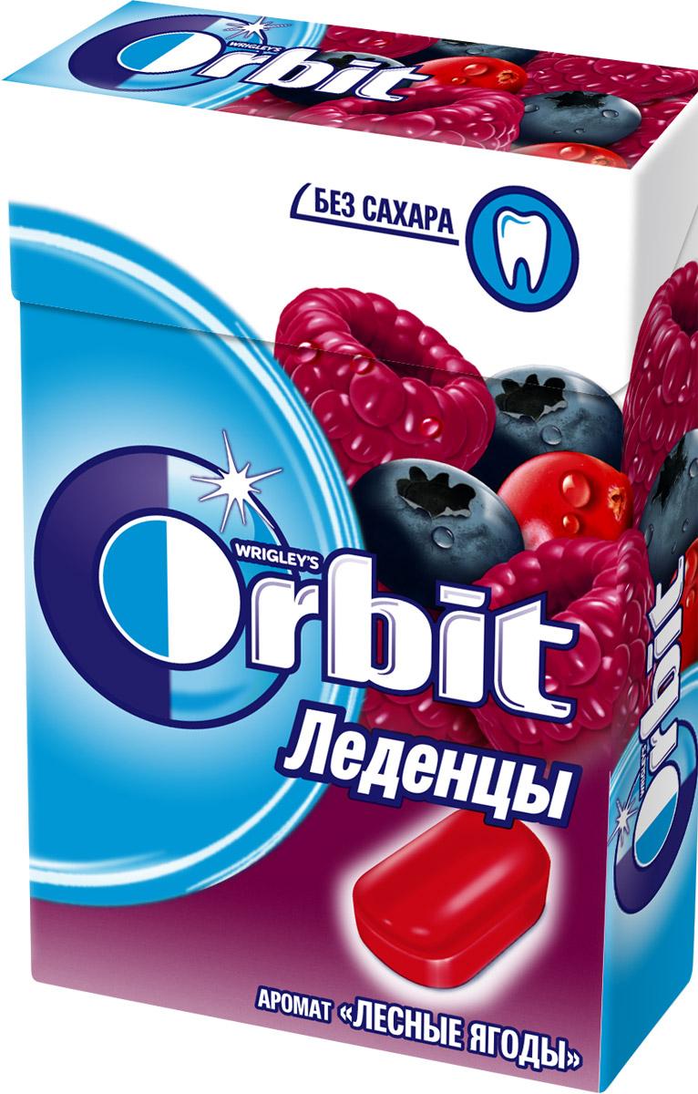 Orbit Лесные ягоды леденцы, 35 г sula эвкалипт ментол леденцы 18 г
